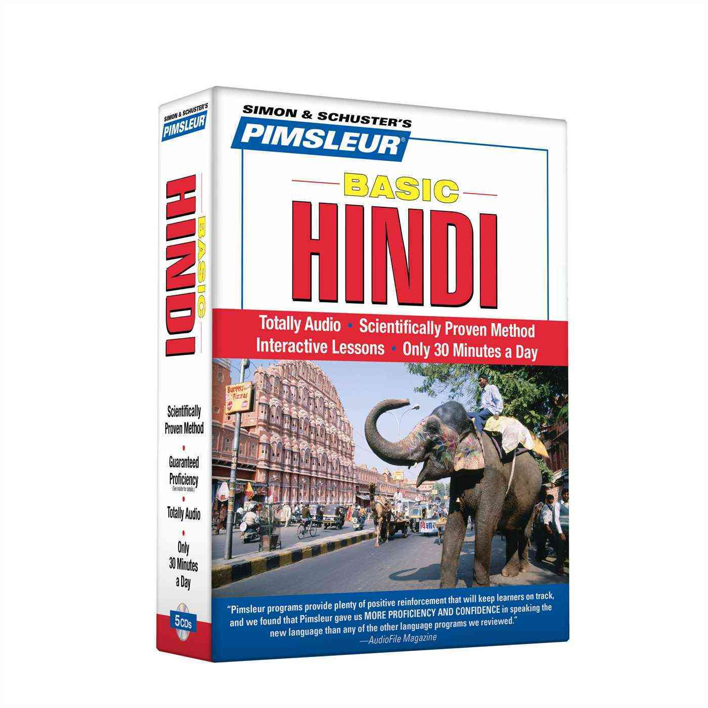 [CD] Pimsleur Basic Hindi